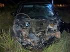 Adolescentes capotam com carro furtado  (Divulgação)