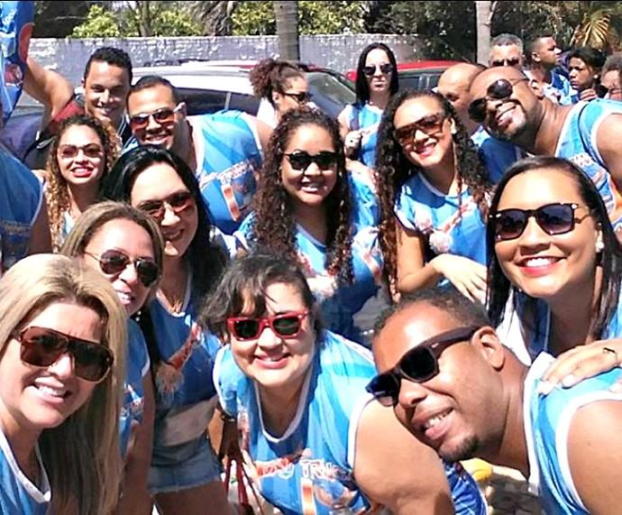 O diferencial do Bloco da Trinca nos últimos carnavais é a bateria, composta por músicos de escolas de samba da capital (Foto: Divulgação/Bloco da Trinca)