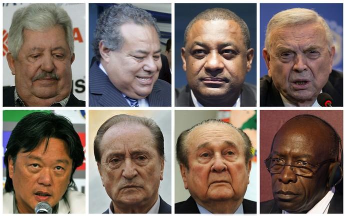Acusados Fifa Zurique (Foto: Agência AFP)