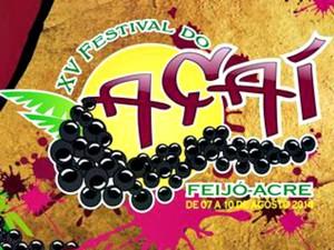 Banda Araketu é a principal atração do Festival do Açaí, em Feijó