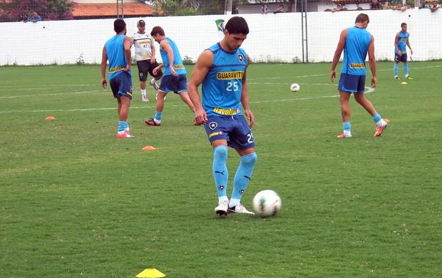Renato, Treino Botafogo (Foto: Thales Soares / Globoesporte.com)