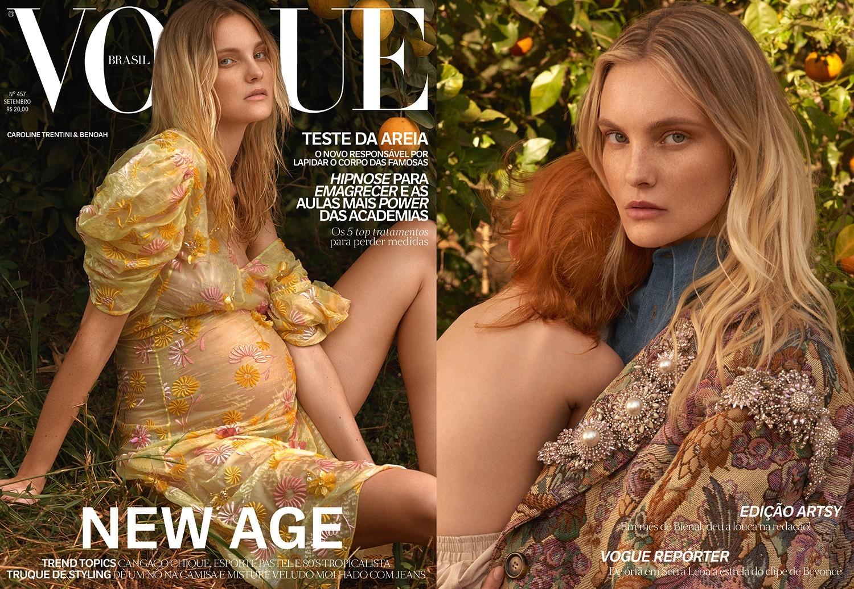 Carol Trentini na Vogue Brasil (Foto: Carol Trentini por Zee Nunes para a Vogue Setembro/2016)