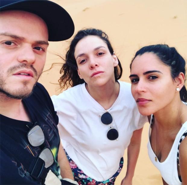 Henrique Martins, Yasmine Sterea e Marina Morena  (Foto: Reprodução/ Instagram)