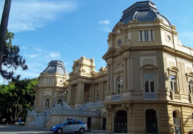 Palácio Guanabara, sede do governo do Rio de Janeiro (Foto: Wikimedia Commons/Wikipedia)