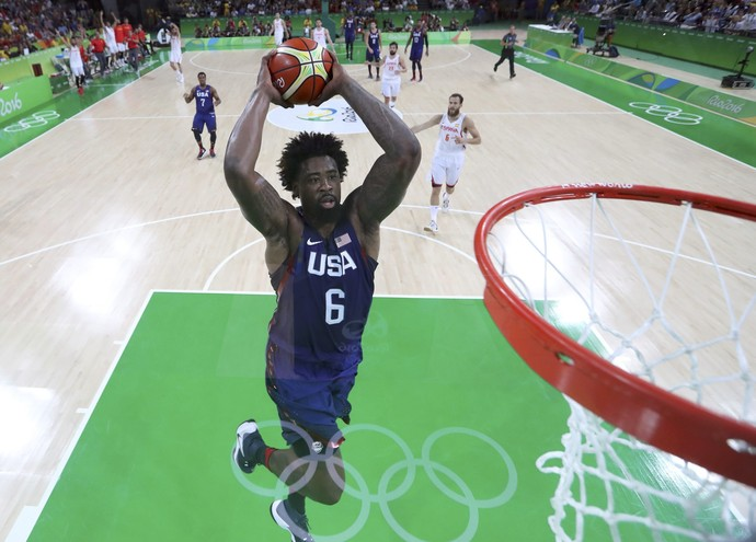 Espanha x Estados Unidos basquete masculino (Foto: Reuters)