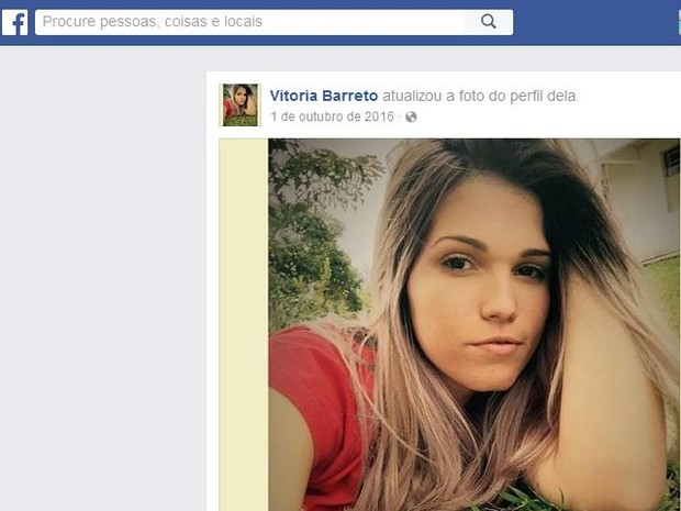 Jovem chegou a ser socorrida com vida para hospital de Italva, mas não resistiu (Foto: Reprodução/Facebook)
