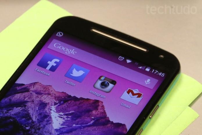 Moto G também oferece três opções com versão básica, TV Digital e 4G (Foto: Isadora Díaz/TechTudo) (Foto: Moto G também oferece três opções com versão básica, TV Digital e 4G (Foto: Isadora Díaz/TechTudo))
