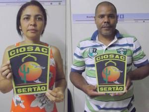 Presos são suspeitos de praticar vários homicídios em PE (Foto: Divulgação/ Ciosac)