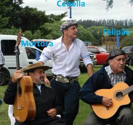 Meme Cebolla Cristian Rodríguez Felipão Grêmio  (Foto: Reprodução/Twitter)