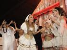 Ivete Sangalo confidencia antes de desfile: 'Estou muito nervosa'