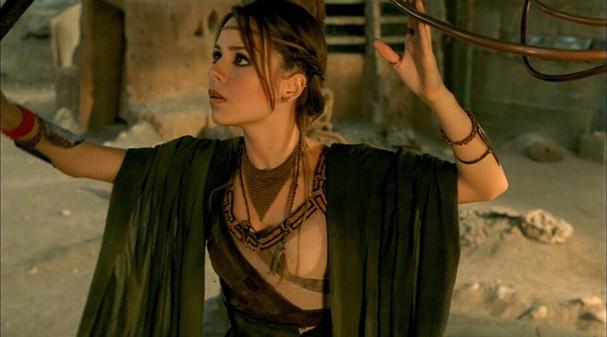 Sandy viveu a personagem Sarah no filme Acquária (Foto: Divulgação)