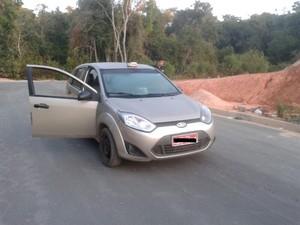 Taxista morre em Nova Serrana (Foto: Polícia Militar/Divulgação)