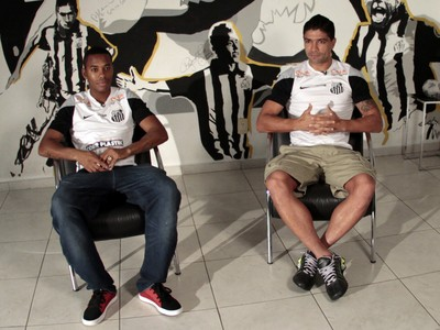 Santos Robinho Renato entrevista (Foto: Alexandre Valdivia)