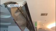 Teto do salão de embarque desaba no Aeroporto JK
