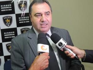 Secretário Estadual de Segurança Pública e Defesa Social do RN, Aldair da Rocha (Foto: Felipe Gibson/G1)