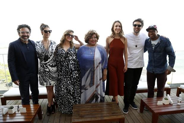 Simoninha, Fernanda Abreu, Maria Rita, Alcione, Roberta Sá, José Ricardo  e Buchecha (Foto: Felipe Assumpção / Agnews)