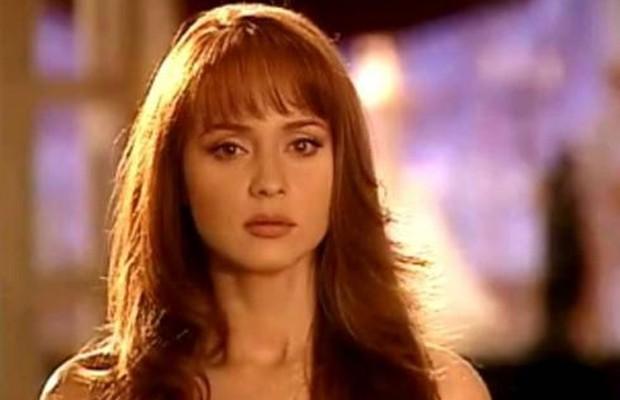 Gaby Spanic em 'A Vingança' (2002) (Foto: Reprodução)