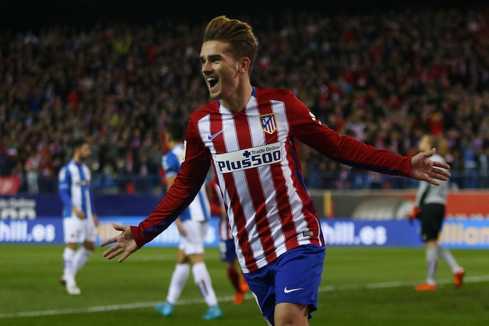 Griezmann Atlético da Madrid Espanyol (Foto: AP Photo/Francisco Seco)