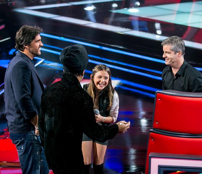 Laura Schadeck conquista técnnicos em tarde de Audições (Foto: Isabella Pinheiro/Gshow)