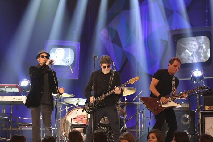 Banda canta grandes sucessos no 'Altas' (Foto: Carol Caminha/Gshow)