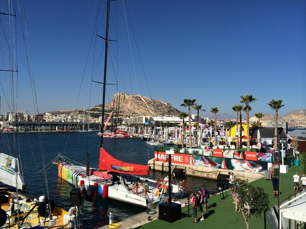 Volvo Ocean Race Alicante (Foto: Adriana Krauss/RBS TV)