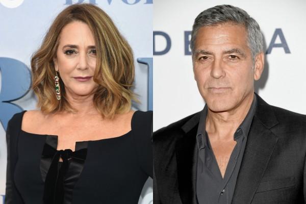 George Clooney e Talia Balsam (Foto: Getty Images)