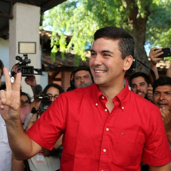 Santiago Peña, político paraguaio (Foto: Reprodução)