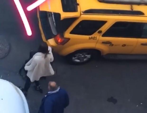 Bruna Marquezine desembarca em NY (Foto: Reprodução/Instagram)