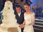 Eri Johnson relembra votos da mulher em casamento: 'Amém'