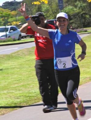 Patricia Schultz Ferreira, corredora de rua (Foto: Arquivo pessoal / Joseane Daher)