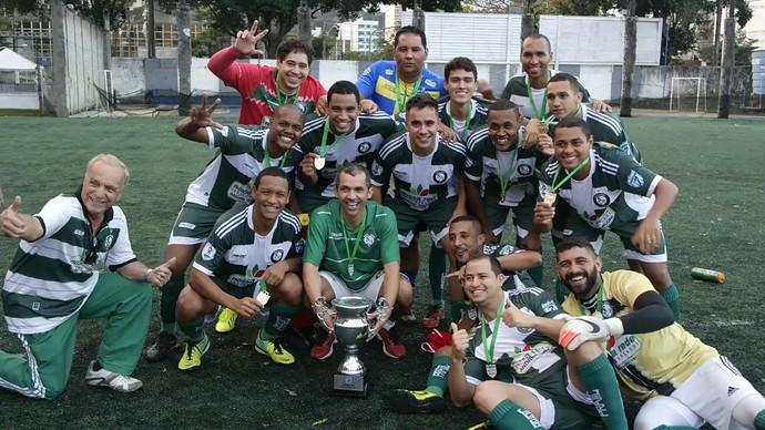 Santo André, campeão da Copa Metropolitana de futebol 2015 (Foto: Richard Pinheiro/GloboEsporte.com)