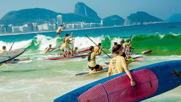 Rei e Rainha do Mar, esporte de praia, Circuito, natação, corrida, stand up paddle (Foto: Divulgação Rei e Rainha do Mar)