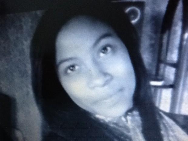 Cristina Nascimento da Silva foi morta quando voltava para casa, em Pedro de Toledo, SP (Foto: Reprodução / TV Tribuna)