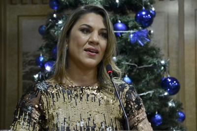 Bethe Correia MMA título de cidadã natalense (Foto: Verônica Macedo/Divulgação)