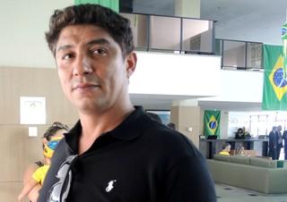 Jardel ex-jogador da Seleção (Foto: Thaís Jorge)