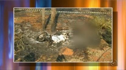 Autônomo morre carbonizado após sofrer acidente em Guarani d'Oeste