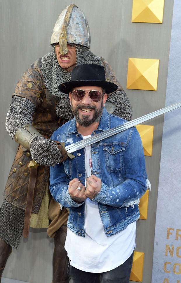 AJ McLean, dos Backstreet Boys (Foto: Getty Images)