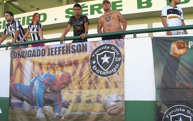 Treino, Botafogo, Jefferson (Foto: Thales Soares / Globoesporte.com)