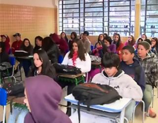 Paraná TV escolas (Foto: Reprodução/ RPC)