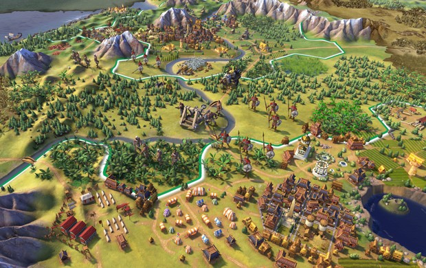 'Civilization VI' é nova versão do game de estratégia em turnos (Foto: Divulgação/Firaxis)