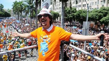 Monobloco leva multidão ao Centro para a 'saideira' (Alexandre Durão/G1)