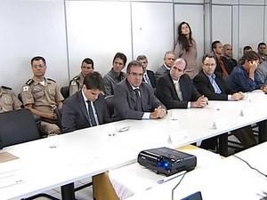 Encontro Polícias (Foto: Reprodução/TV Integração)