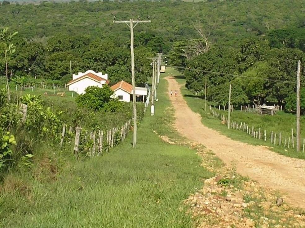Vila dos Diamantes onde os turistas ficam hospedados (Foto: Prefeitura de Coxim/Divulgação)