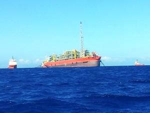 Corpo de 6ª vítima de explosão em navio no Espírito Santo é localizado, diz empresa (Foto: Juirana Nobres/ G1 ES)