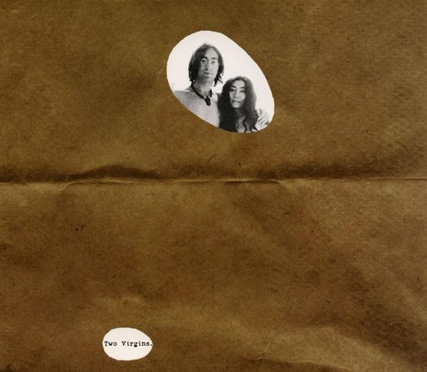 John Lennon e Yoko Ono, capa do álbum Two Virgins (Dois Virgens), 1968 (Foto: Foto: John Lennon/Cortesia de Yoko Ono)