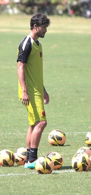 Pedro Ken no treino do Vasco (Foto: Bruno Gonzalez / Agência O Globo)