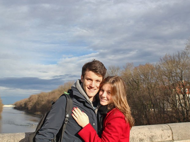Alice Wegmann e Marcos Wegmann (Foto: Arquivo Pessoal)