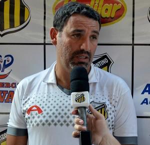 Guilherme Alves, técnico do Novorizontino (Foto: William Brás de Lima / GE Novorizontino)