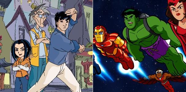 Veja ainda 'As Aventuras de Jackie Chan' e 'Esquadão de Heróis' (Foto: Divulgação/Reprodução)