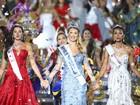 Modelo espanhola de 23 anos é coroada Miss Mundo na China